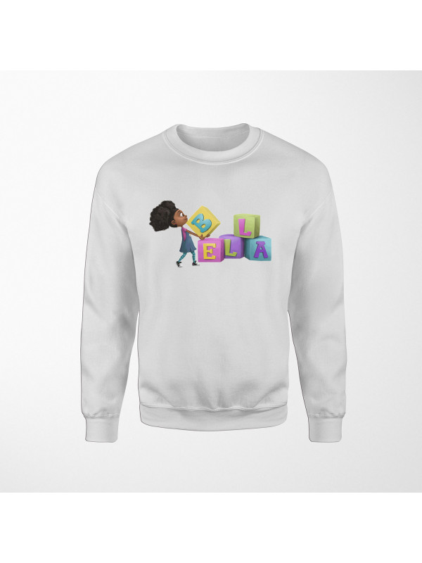 Bella Carrying Blocks Sweatshirt