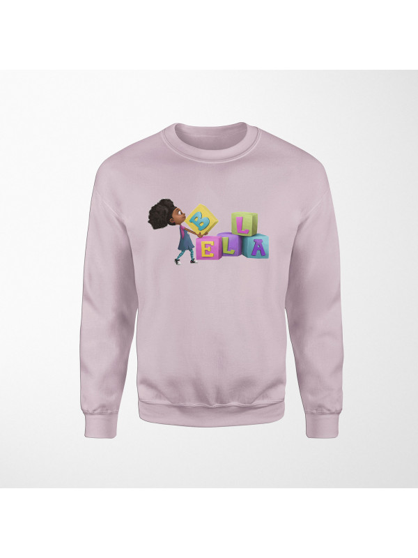 Bella Carrying Blocks Sweatshirt