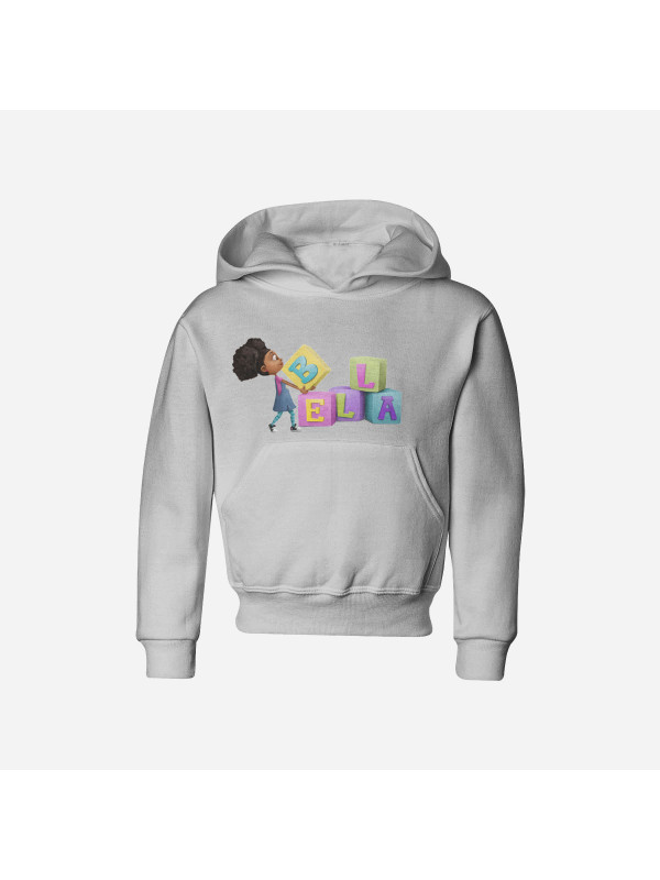 Bella on Blocks Hoodie